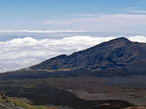 Haleakala Volcano in Hawaii Royalty Free Stock Photos