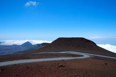 Haleakala Volcano Maui Hawaii Fotografia Stock