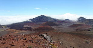 Haleakala Volcano, Maui Royalty Free Stock Photography