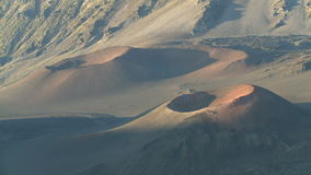 Haleakala vulkanområde stock video