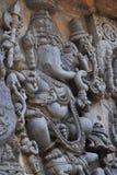 Halebidu-Wandentlastung Stockfoto