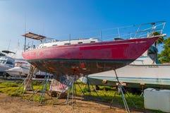 Haleiwa-Boots-Hafen Stockfotografie