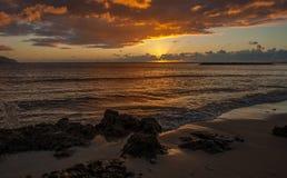 Haleiwa Oahu Havaí & x28; Shore& norte x29; Fotografia de Stock
