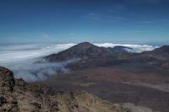 Halekala Krater Stockbilder