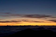 Halekala-Sonnenaufgang Stockbilder