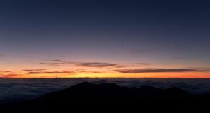 Halekala sunrise Stock Photography