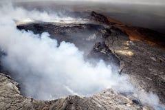 Halemaumau crater on Kilauea Stock Photography