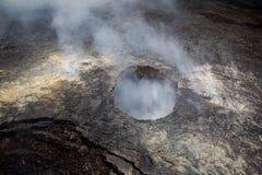 Halemaumau crater on Kilauea Stock Images