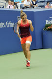 Halep Simona bij US Open 2015 (13) Stock Foto's