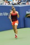Halep Simona no US Open 2015 (13) Fotos de Stock