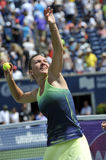 Halep Simona Rogers Cup (151) Photographie stock
