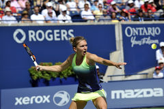 Halep Simona Rogers Cup (242) Immagine Stock