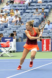 Halep Simona at US Open 2015 (35) Stock Photography