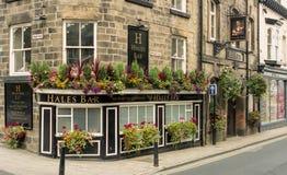 Hales酒吧新月形路Harrogate英国 免版税库存图片