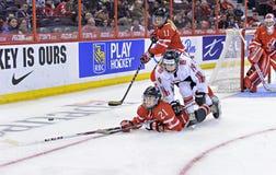 IIHF kobiet Lodowego hokeja światu mistrzostwo fotografia stock