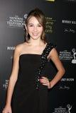 Haley Pullos llega los 2012 Premios Emmy diurnos imagen de archivo