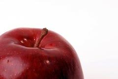 half äpple Arkivbilder