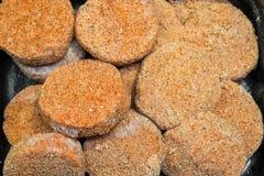 Half afgewerkte broodproducten royalty-vrije stock afbeelding