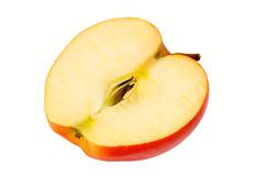 Half of apple Stock Image