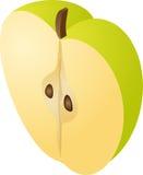 Half apple Stock Image