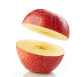 Half apple Royalty Free Stock Images