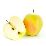 Half an apple Stock Photo