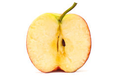 Half an apple Royalty Free Stock Images