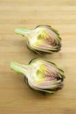 Half artichoke Royalty Free Stock Photography