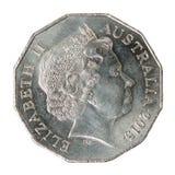 Half australian dollar coin stock images