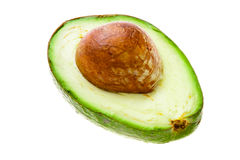 Half of an avocado Royalty Free Stock Image
