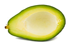 Half an avocado Stock Photos