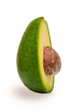 Half Avocado Fruit with a seed Royalty Free Stock Images