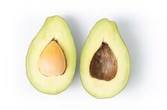 Half of avocado fruit Stock Image