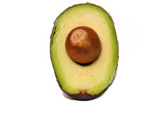 Half avocado Royalty Free Stock Image