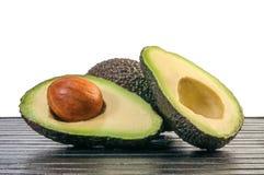 Half avocado Stock Photos