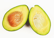 Half Avocados royalty free stock image