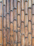 Half Bamboo wall background Stock Photos