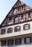 Half betimmerd huis-Esslingen-I-Duitsland Royalty-vrije Stock Fotografie