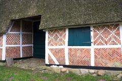 Half betimmerd huis-ii-Stade-Duitsland Stock Afbeelding