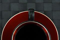 Half black coffee Royalty Free Stock Image