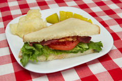 Half blt Royalty Free Stock Image