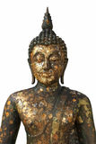 Half body Buddha statue Royalty Free Stock Images