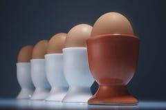 Half boiled egg Royalty Free Stock Photos