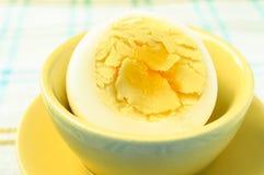 Half boiled eggs Stock Photography