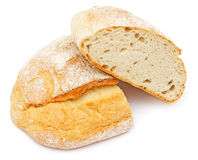 Half of bread Royalty Free Stock Images
