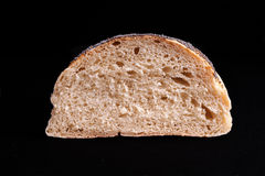 Half of a Bread loaf Stock Photography