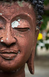 Half of a buddha face Royalty Free Stock Photos