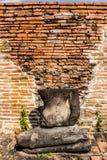 Half Buddha staty Royaltyfria Foton