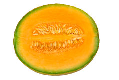 Half Cantaloup Melon Royalty Free Stock Photo