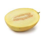 Half of cantaloupe melon Royalty Free Stock Photo